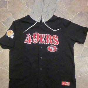 San Francisco 49ers Hoodie Jersey Shirt